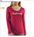 Picture of Carhartt Women's Nail Head Logo T - Shirt