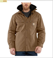 Picture of Carhartt Men's Quick Duck Roane Hooded Shirt Jac (100586)
